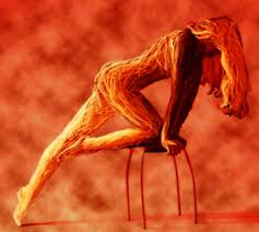 Venus in Aries is fiery, passionate and sensual. (Image Courtesy of www.artician.com)